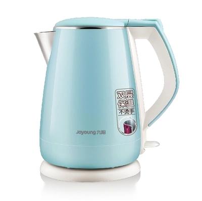 九阳电热水壶k15-f23开水煲全新f626同款正品自动断电双层保温