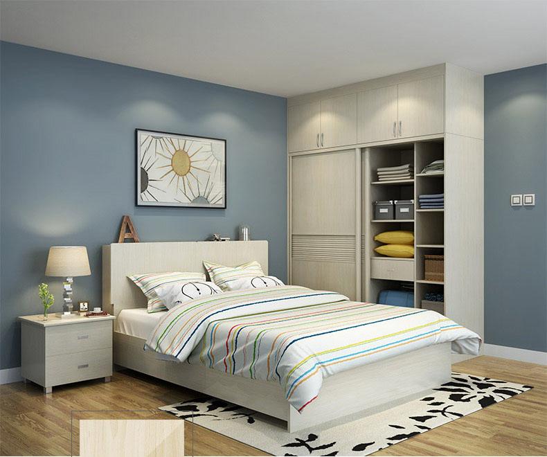 美乐天定制家具,整体衣柜定做,卧室现代简约推拉门衣柜